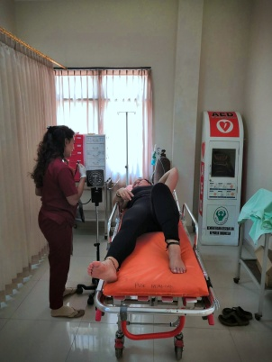 Krankenhaus in Bali